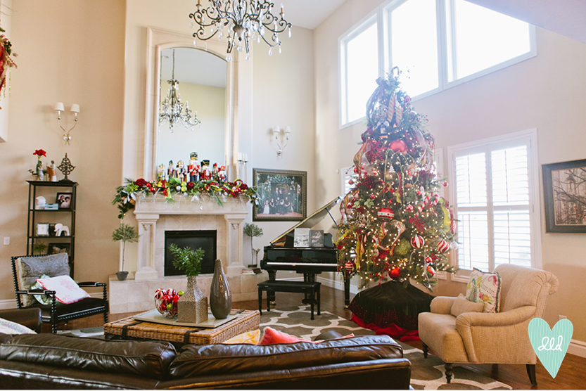Dld Holiday Home Tours A Twist On Traditional