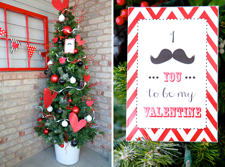Front Door Decor I Mustache You To Be Mine