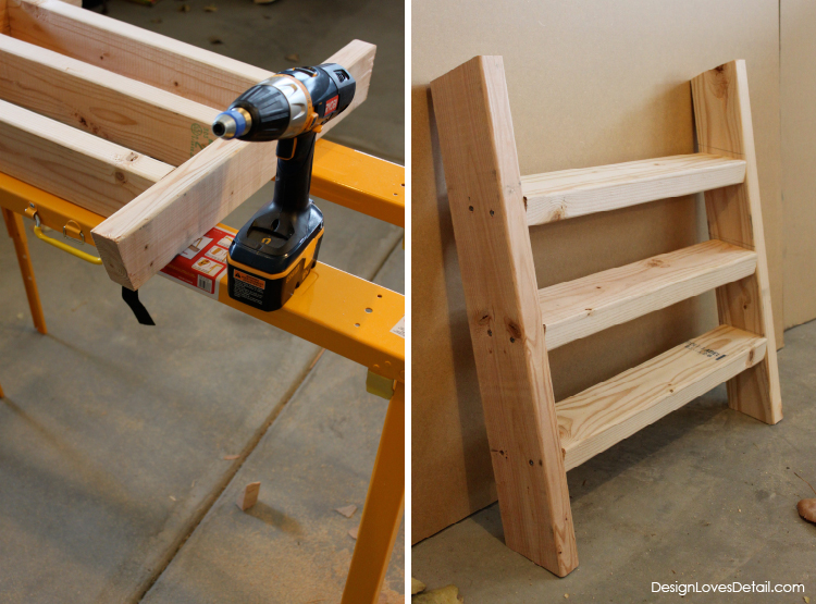 Cutest little slide that's easy to make! Another amazing project from DesignLovesDetail.com