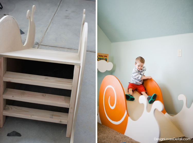 Such a cool project that's surprisingly simple & inexpensive. Kids love this slide!