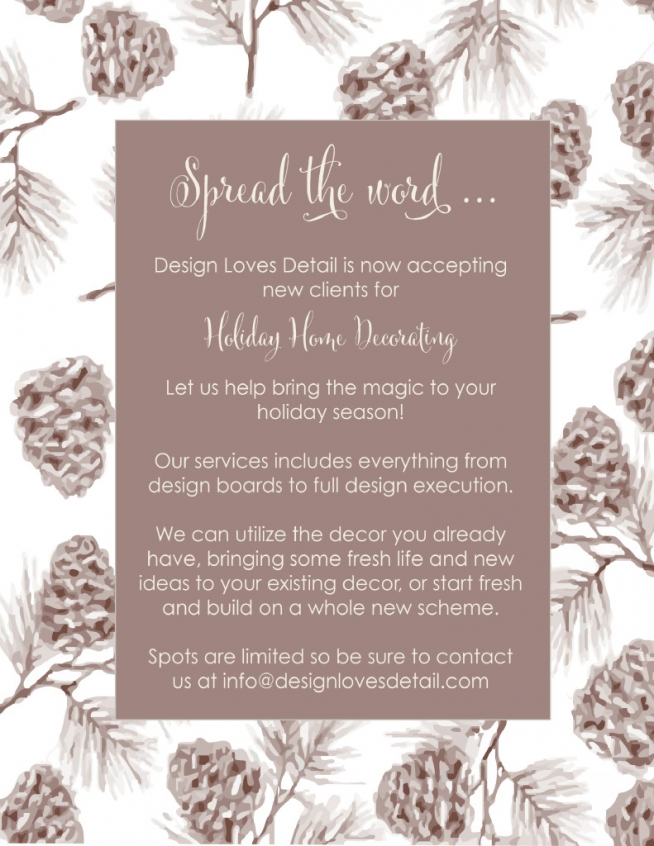 Holiday Home Decorating Info