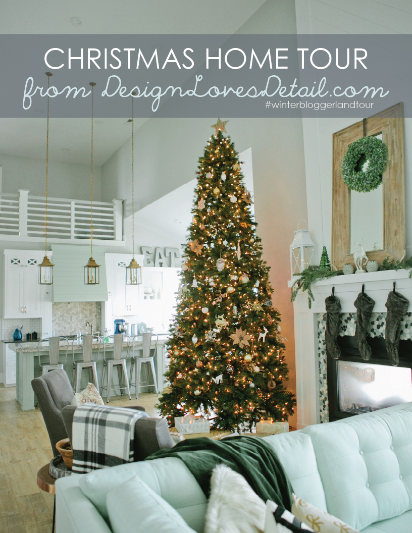 My favorite group of designer home tours! Awesome Holiday decorating ideas, budget-friendly too!
