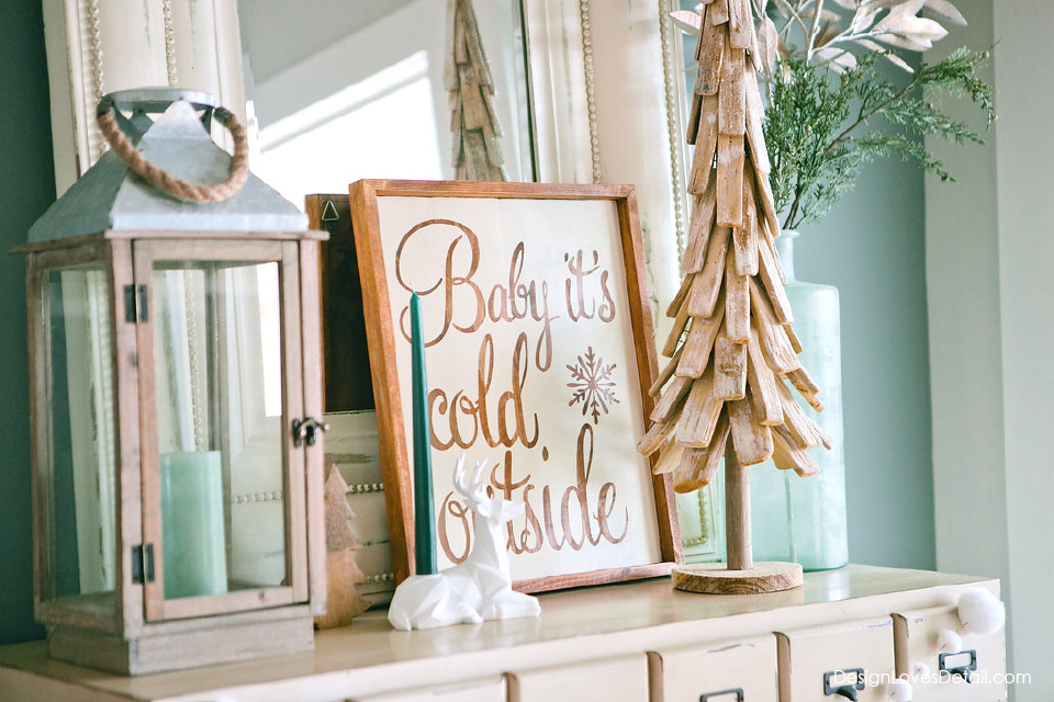 Cute Christmas decor ideas and holiday home tour!