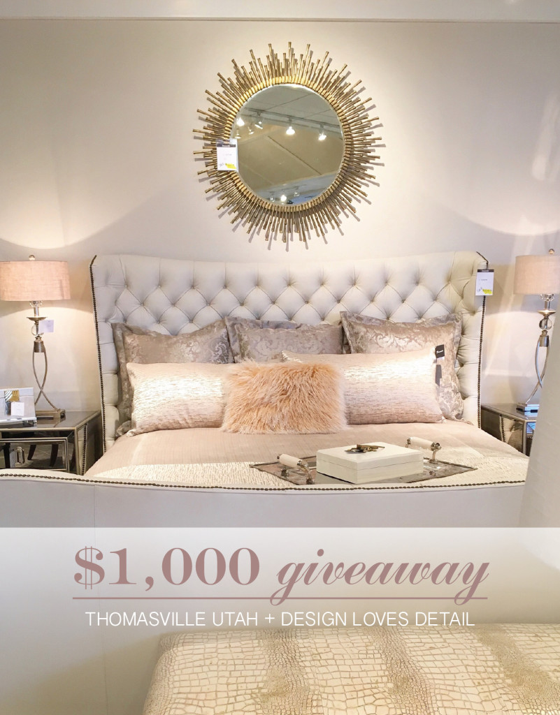 1 000 Giveaway To One Of My Favorite Furniture Decor Showrooms In Utah