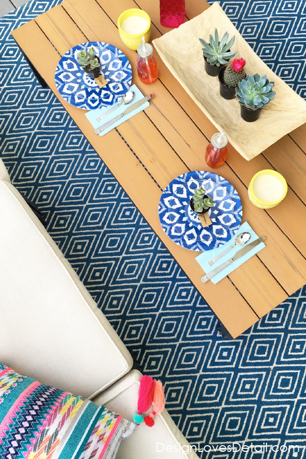 Ideas for patio decor & summer entertaining and BBQ