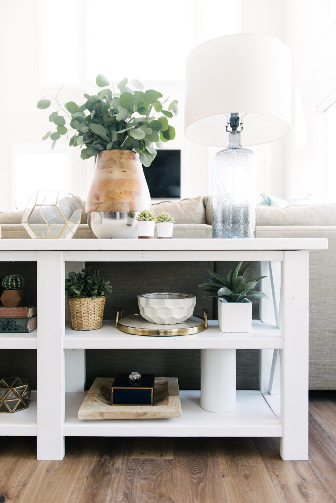 Favorite shelf stying tips from the best home decor bloggers!
