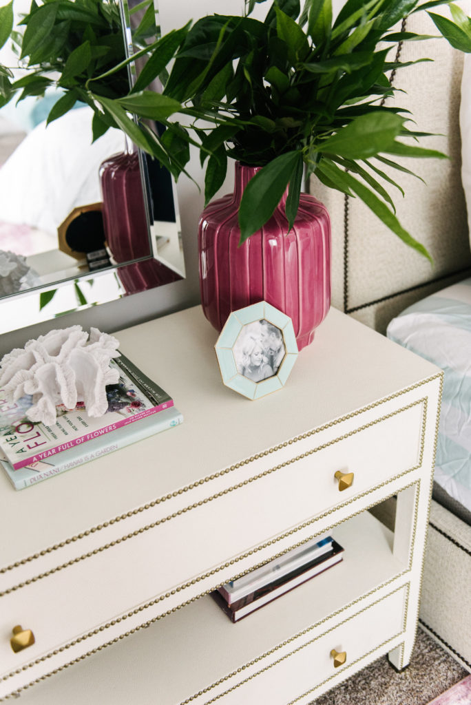 Nightstand styling by DesignLovesDetail.com
