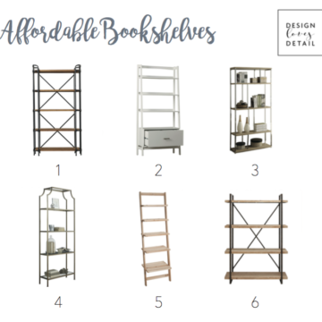 Affordable bookshelves, stylish and trendy bookshelves for any room