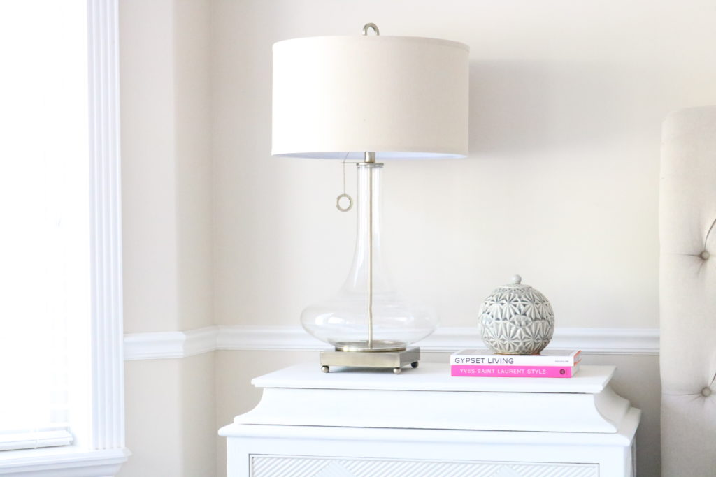 Master Bedroom Side Table Styling