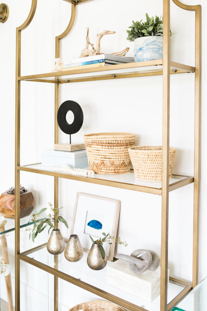 awesome step by step shelf styling video! Love these designer tips to get pretty shelves.