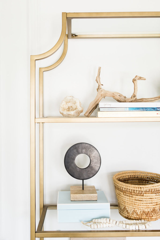 cute home decor shelf styling tips from a designer
