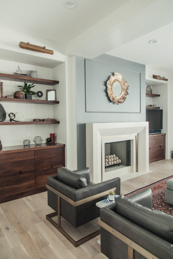 Love this inviting modern family room
