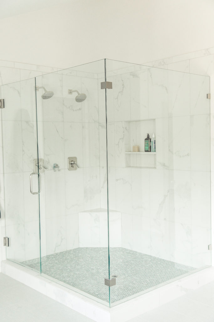 large euro glass shower