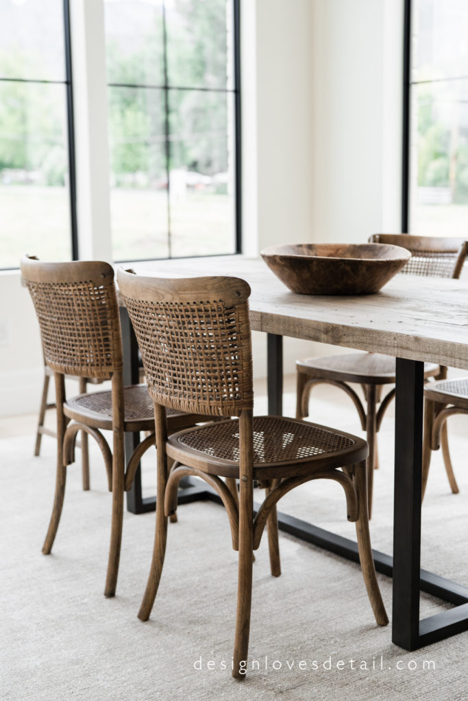 Dining Room Woven Chairs