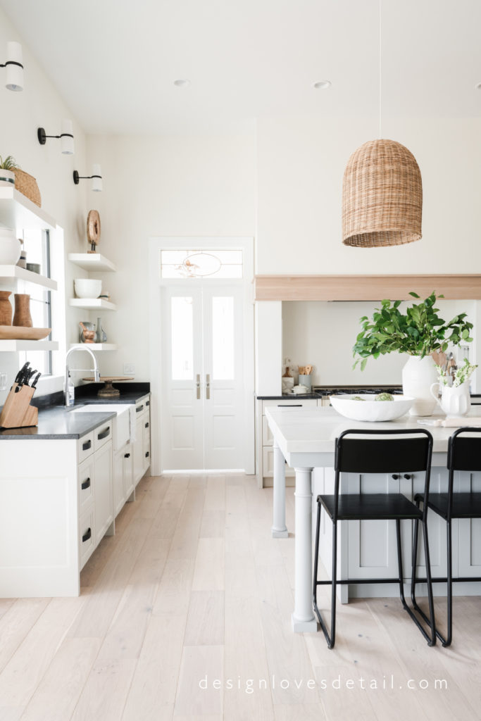 Gorgeous kitchen with European Organic Modern style by Mollie of DesignLovesDetail.com