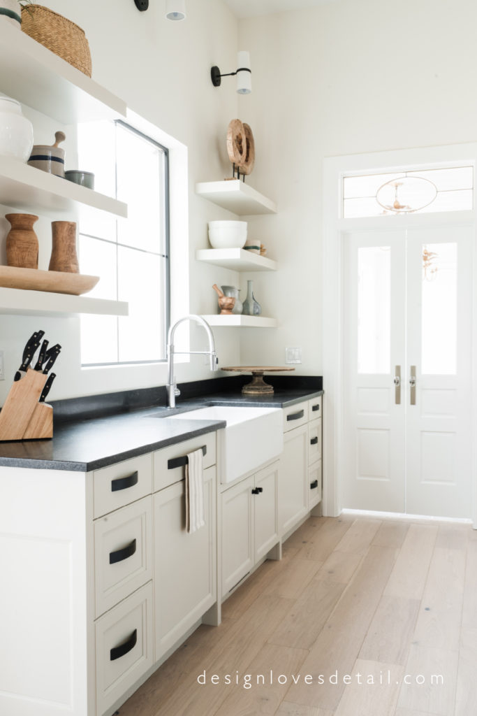 Loving this transom! product details for this kitchen and the entire home tour are available at DesignLovesDetail.com